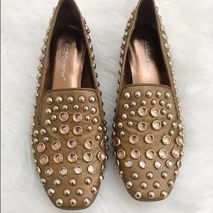BCBGeneration Studded Loafers Flats